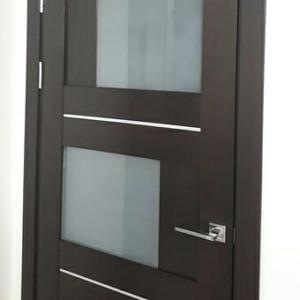 """Дверь """"Домино"""" в интерьере нашего"""