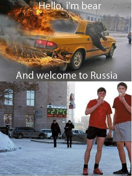 Meanwhile in Russia